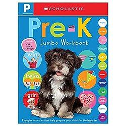 commercial Pre-K Jumbo Workbook: Scholastic Early Learners (Jumbo Workbook) scholastic preschool workbooks