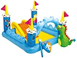 Intex Fantasy Castle Inflatable Play Center, 73' X 60' X 42', for Ages 2+