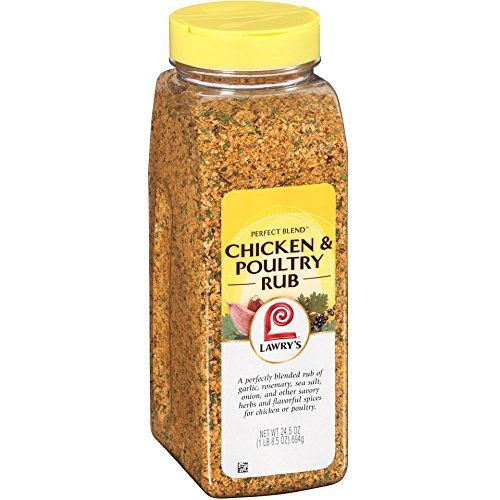 Lawrys Perfect Blend Chicken and Poultry Rub Seasoning, 24.5 Ounce -- 6 per case. by Lawry's