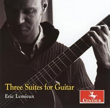 Lemieux: 3 Guitar Suites