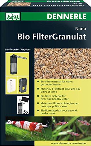 Dennerle Nano Bio FilterGranulat - leistungsstarkes, biologisches Langzeit Filtermaterial