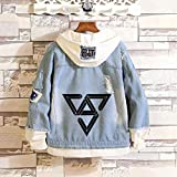 KPOP Seventeen Hoodie Sweatshirt Joshua Wonwoo Woozi Hoshi Jun Denim Jacket Sweater