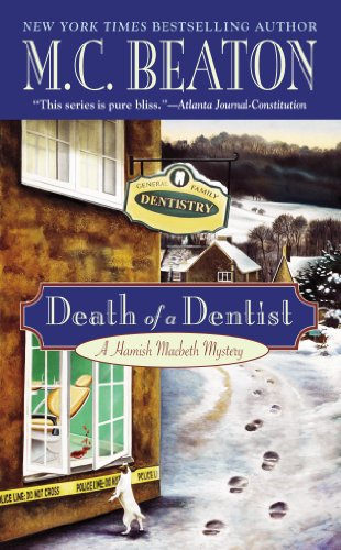Death of a Dentist (Hamish Macbeth Mysteries, N... 0446606014 Book Cover