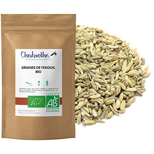 Fenouil Bio Graines 200g - tisane allaitement et digestion