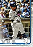2019 Topps Update Baseball #US56 Fernando Tatis Jr. Rookie Debut Card - Goes 2 for 3 in Major League Debut. rookie card picture