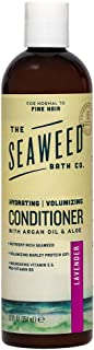 The Seaweed Bath Co. Volumizing Conditioner, Lavender, Natural Organic Bladderwrack Seaweed, Vegan and Paraben Free, 12oz