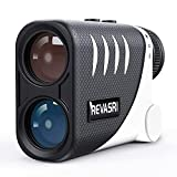 REVASRI NF-1500 Disc Golf Rangefinder with Slope and Pin-Lock, Measure in Feet Yard Meter Hunting...