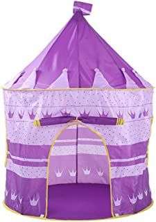 HO-TBO speltält, prinsessa tält for flickor lektält prinsessa lås camping tält stor lekstuga tipi barnrum pop up lekhus le...