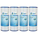 Tier1 Dynamic 03FIL1600, Pleatco PRB50-IN, Filbur FC-2390, Unicel C-4950 Comparable Replacement Filter Cartridge for Dynamic Pools and Spas (4-Pack)