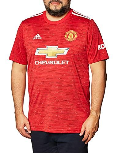 Mnchester United Home - Camiseta de fútbol para hombre, 2020/21, L