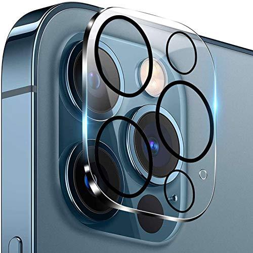 El objetivo de la cámara de cristal templado es adecuado para la protección de lente HD de alta definición con teléfonos móviles iPhone 12 Pro (1).