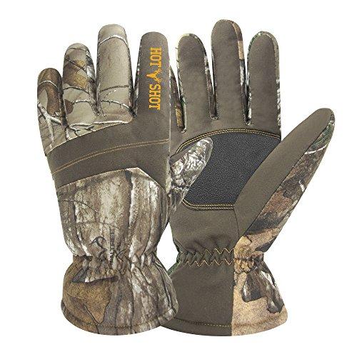 Hot Shot Mens Defender Winter Thermal Gloves, Camo