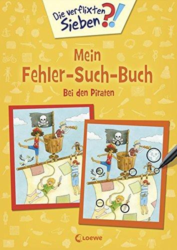 Die verflixten Sieben - Mein Fehler-Such-Buch - Bei den Piraten