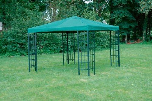 Lesli Universal Ersatzdach Metallpavillon 2,9x2,9 grün extra schwere Qualität 230 g/m2