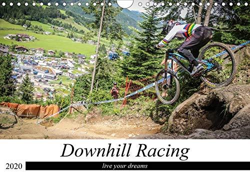 Downhill Racing (Wandkalender 2020 DIN A4 quer): Spannender Sportkalender (Monatskalender, 14 Seiten ) (CALVENDO Sport)