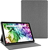 Tablet 10 inch + Protective Cover Stand Case, Android 8.1 Go Tablets PC, 3G Phablet with Dual SIM Card Slots and Cameras, 16GB Storage, GMS Certified, WiFi, Bluetooth, GPS - Black