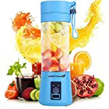LIGHTSMAX Portable Blender Personal Size Blender Juicer Cup for Juice Crushed-ice Smoothie Shake,...