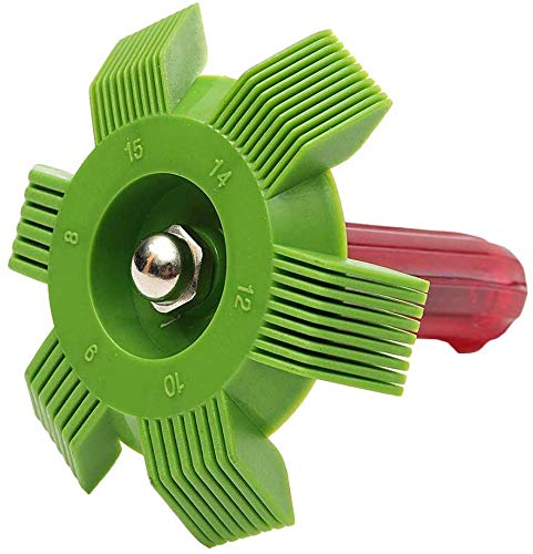 BestSiller Air Conditioning Fin Reparatie Kam Condenser, Radiator Reparatie Stof Collector Tool, Verstelbare Spanning Condenser Reinig en recht Fin