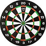 Embassy 68235 - Tabellone per freccette, 45,7 cm, con 6 freccette