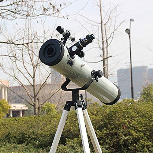 Zhipeng F70076TX Reflectantes telescopio astronómico es como un Mundo de Alta Potencia HD despejan la Maleta hsvbkwm