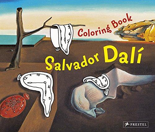 Coloring Book Dali (Prestel Postcard Books)