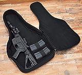 Hunting Tactical Rifle Bag Shooting Range Guitar Gun Case Firearm Adjustable Shoulder Backpack Gun Bag (Black)