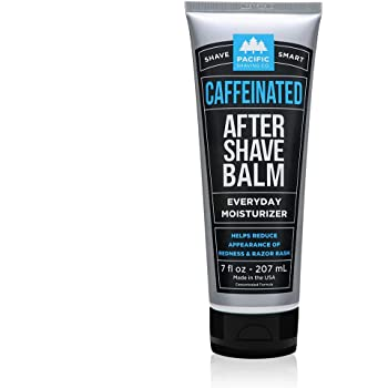 Pacific Shaving Company Caffeinated Aftershave - Helps Reduce Appearance of Redness, With Safe, Natural, and Plant-Derived Ingredients, Soothes Skin, Paraben-Free, Made in USA, 7 oz