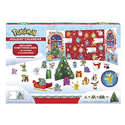 Pokemon PKW0257 Adventskalender