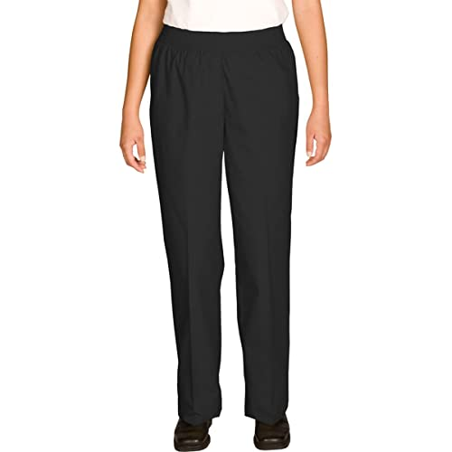 Edwards Garment Womens Elastic Waistband Two Side Pockets Pull on Pant