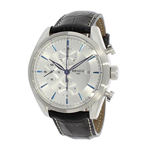 KIENZLE Uhr Chronograph ETA Analog mit Leder Armband K17-00422
