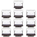 ZHANGQUAN Accesorios para Celular Conector de Puerto de Carga DCVN 10 PCS para Huawei P20 Pro
