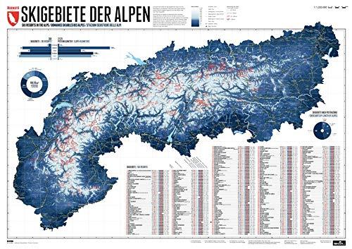 268 Skigebiete der Alpen: Edition 3