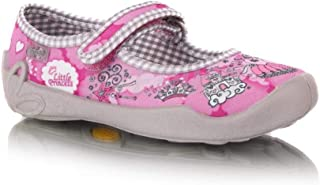 AXIM Canvas girls shoes trainers size UK 9 GIRLS Real Leather Insoles BOX