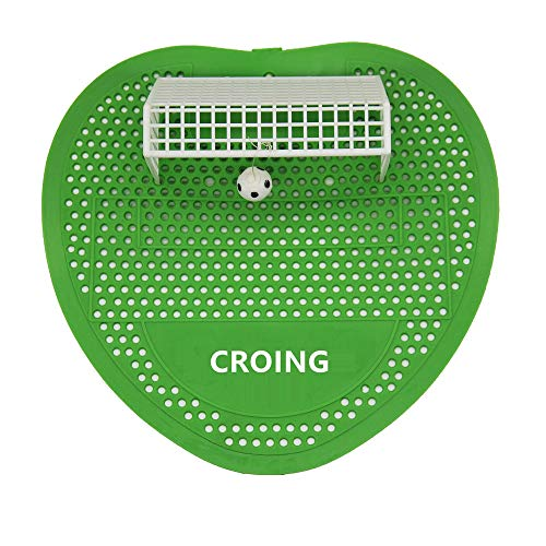 CROING Urinal Screen -12 Packs-30 Days Fragrance - Soccer Style