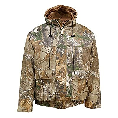 Wolverine Men's FR Hooded Work Jacket, Realtree Xtra Camo, L from Wolverine