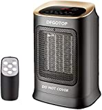 DFGOTOP Calefactor de Espacio Portátil Eléctrico Silencioso para Oficina, Mini...