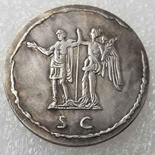 YunBest Antica moneta romana antica moneta-Impero Romano-Antica Moneta Romana-Fortunato Commemorativo Strumento di insegnamento per i bambini-È artigianato artigianale BestShop