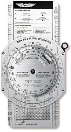 ASA E6B Flugcomputer aus Metall, Modell: Gadget & Electronics Store
