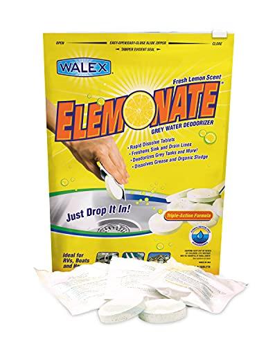 Walex Elemonate RV Grey Water Deodorizer &...