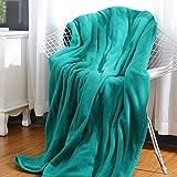 MaxKare Electric Heated Throw Blanket Polar Fleece 50'' x 60'' Lightweight Cozy...