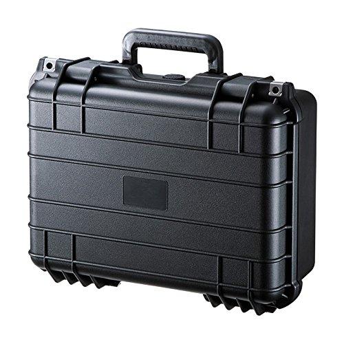サンワサプライ アウトレット ハードケース PP樹脂製 ダイヤル鍵付き PC 精密機器 小型ドローン対応 BAG-HD4 箱にキズ、汚れのあるアウトレット品です。