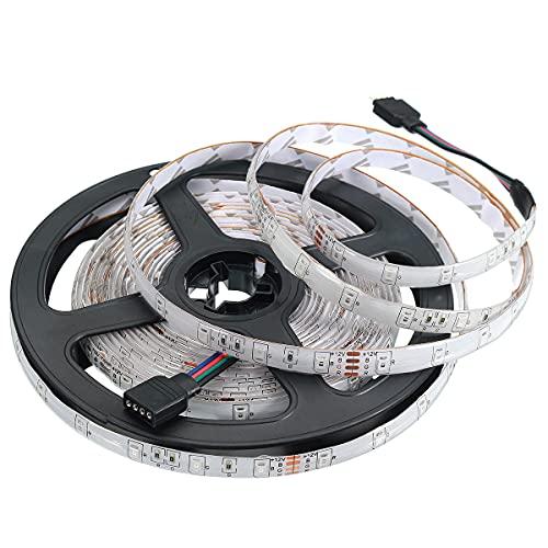 Zay Luay Luces 2 * 5M IP65 SMD2835 Flexible RGB LED Tira de luz Inteligente WiFi Controlador Alexa App Kit de Control DC12V (Color : US Plug)