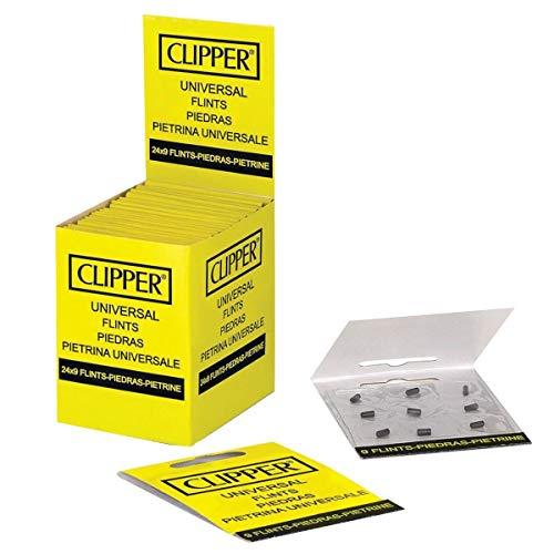 Clipper Universal Flints Piedras 24 x 9 Per Pack by Clipper