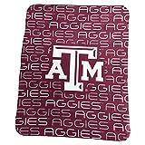 Logo Brands NCAA Texas A&M Aggies Classic Fleece, One Size