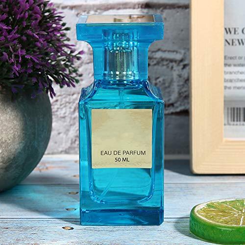Perfume para hombres, una combinación de aromas naturales cítricos y afrutados, botella de spray de aluminio Perfume masculino Atractivo caballero Fragancia de larga duración Perfume en spray de sabor