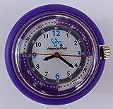 Valencia Med Stethoscope Watch, Purple