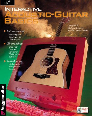 Interactive Acoustic-Guitar Basics, 1 CD-ROMGitarrenschule, Gitarrenshop, Musiktheorie. Für Windows 3.x u. Windows 95