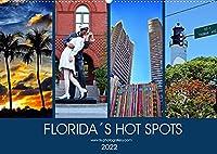 Florida Spots II (Wandkalender 2022 DIN A2 quer): Orte, die man gesehen haben muss in Florida (Monatskalender, 14 Seiten )