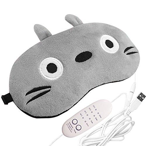 EJBOTH 蒸気でホットアイマスク USB電熱式 【タ...
