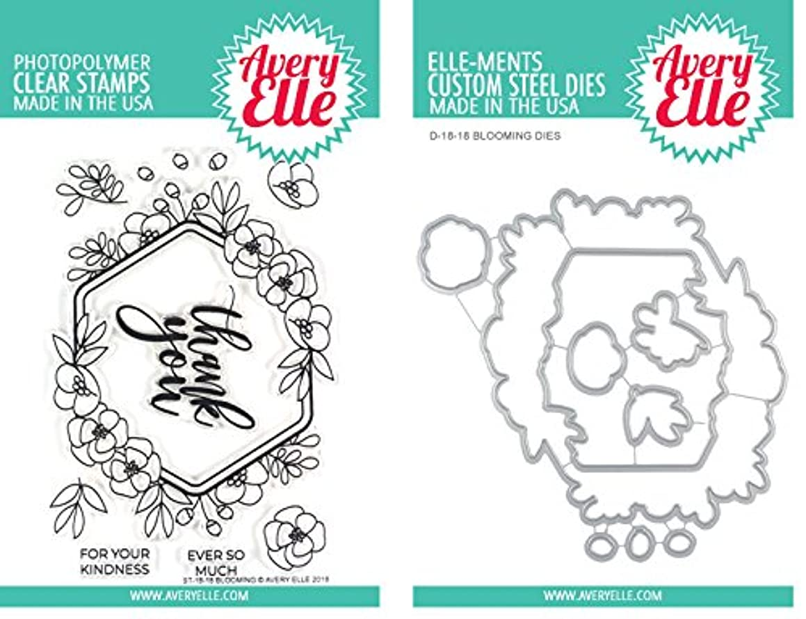 Avery Elle - Blooming - Clear Stamps and Dies Set